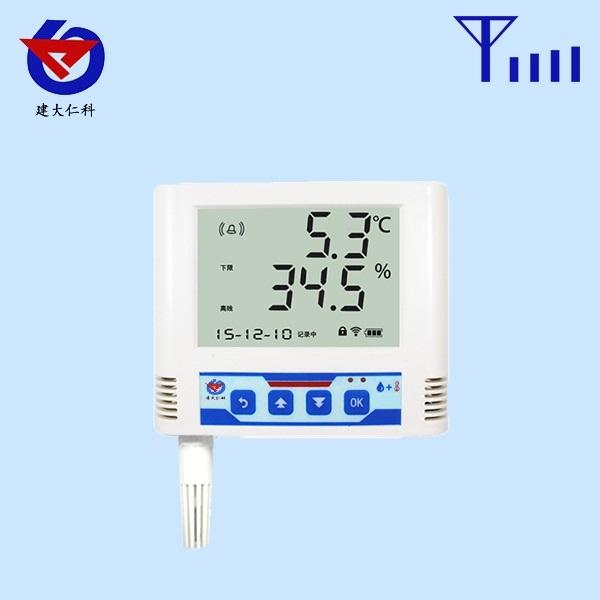 GPRS温湿度变送记录仪内置探头