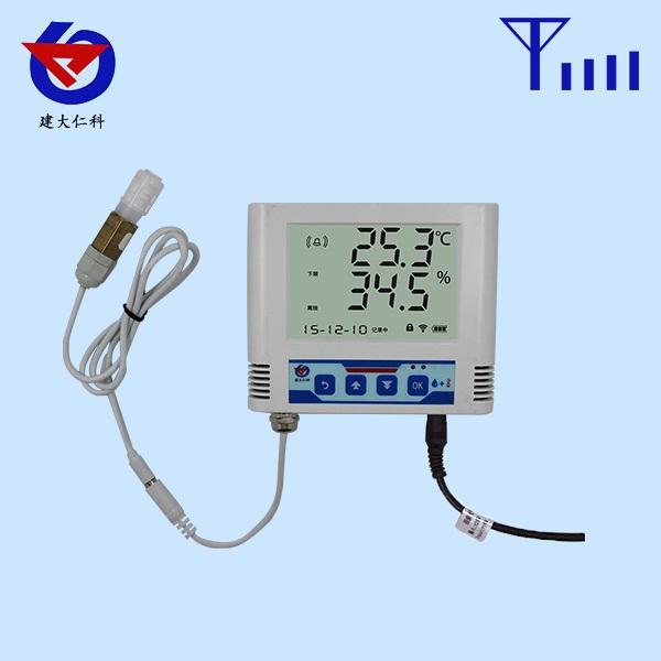 GPRS温湿度变送记录仪外置防水