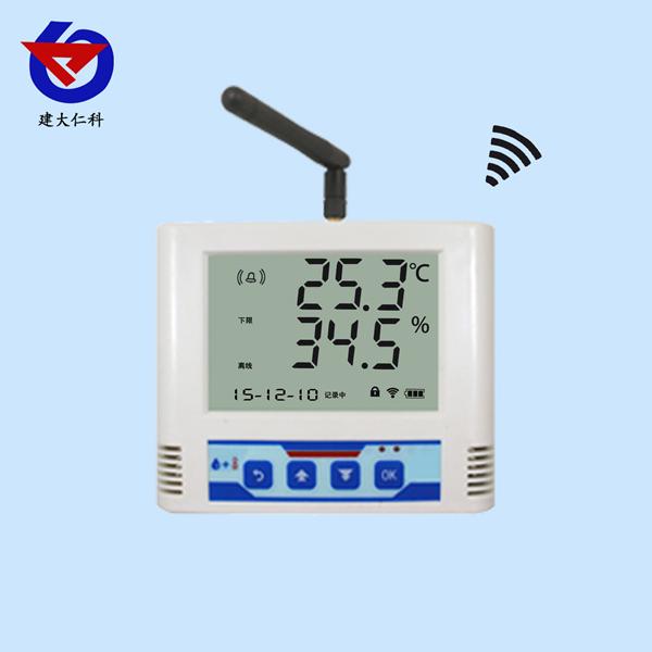 无线电温湿度变送记录仪内置